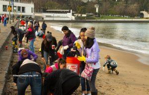 Aquatic Park Crew Cleanup