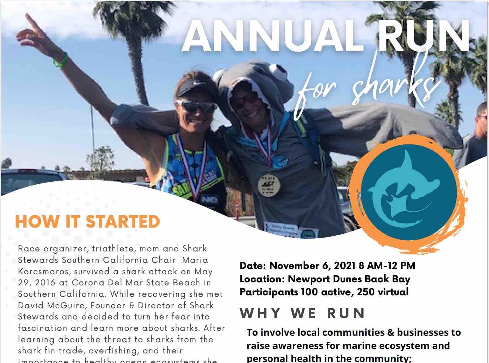 Run4Sharks promo